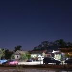 База Рыбачий хутор - вид ночью