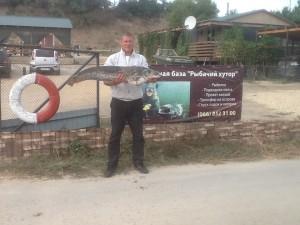рыбалка на сома в кизомысе